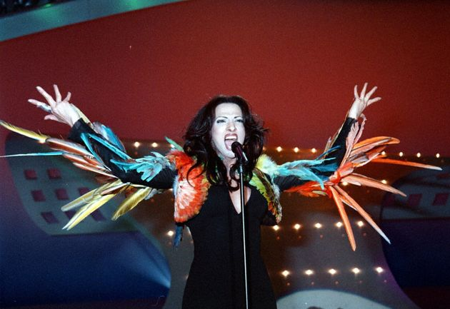 Dana International won Eurovision for Israel in 1998, but didn't make the list of the UK's top 10 favourite