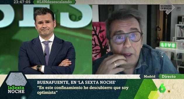 Andreu Buenafuente en 'LaSexta Noche' con Iñaki