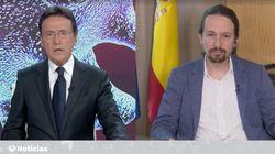 Matías Prats, 'trending topic' por lo que ha hecho durante esta entrevista a Pablo