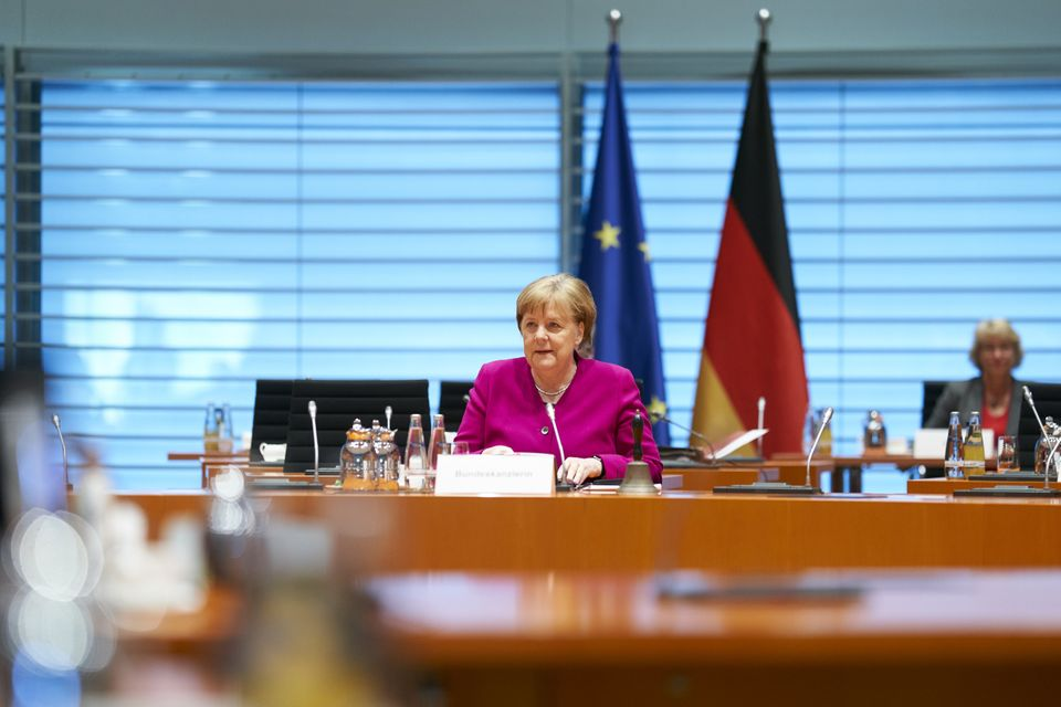 European countries like Germany, where Chancellor Angela Merkel has gotten high marks for her leadership...