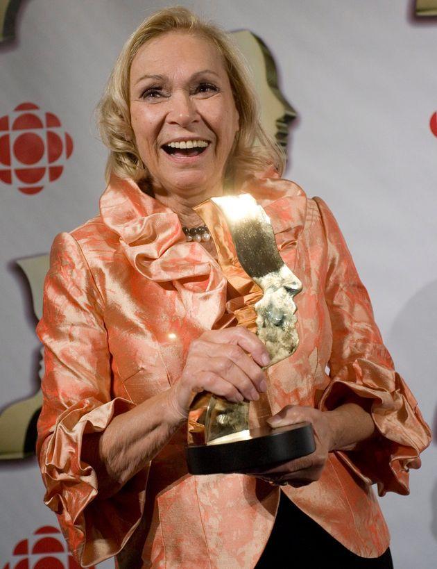 Monique Mercure, lors du gala des prix Gémeaux,le dimanche 9 septembre 2007, à