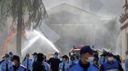 Ταραχές στα Τίρανα λόγω κατεδάφισης του κτιρίου του εθνικού
