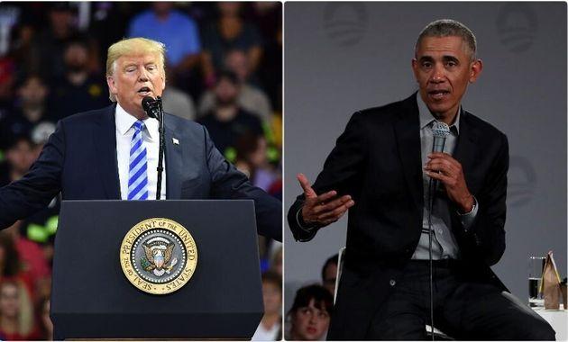 Donald Trump - Barack