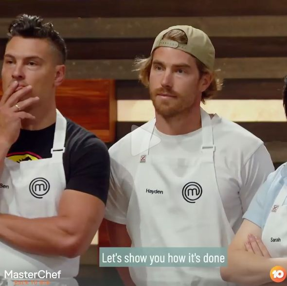 'MasterChef Australia: Back To Win' contestants Ben Ungermann and Hayden