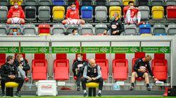 サッカー・ドイツリーグ再開。徹底した感染対策、歓喜の瞬間も社会的距離