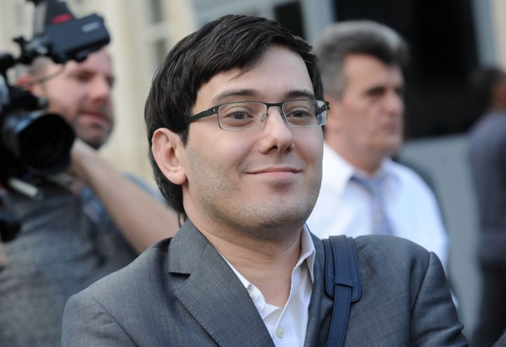 Martin Shkreli, former chief executive officer of Turing Pharmaceuticals, in 2017.