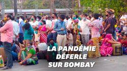 Exode massif à Bombay, ville la plus touchée par le coronavirus en