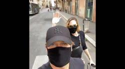 Finalmente Totti e Ilary si godono Roma. Con la mascherina nessuno li riconosce