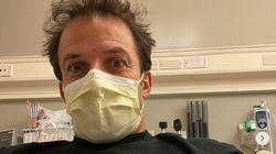 Alex Del Piero ricoverato in ospedale. Ma per fortuna il Covid non