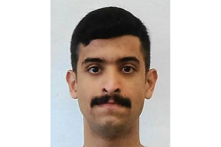 This undated photo provided by the FBI shows Mohammed Alshamrani. (FBI via AP)