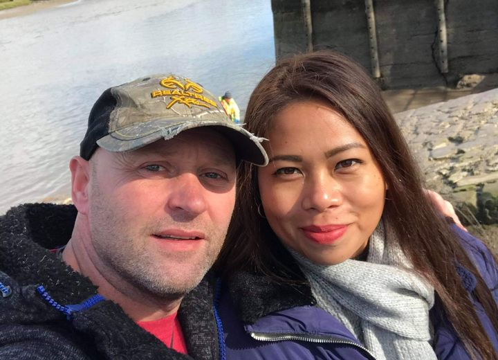 Darrel Wilson and Geraldine Calog were due to get married on April 17.