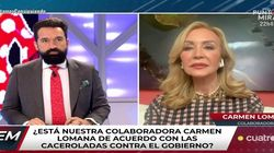 Carmen Lomana llama así a Fernando Simón en 'Todo es