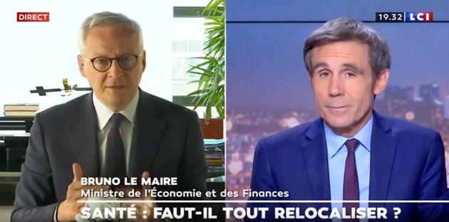 Sur LCI, le ministre de l'Économie Bruno Le Maire a confirmé que la France pourrait se...