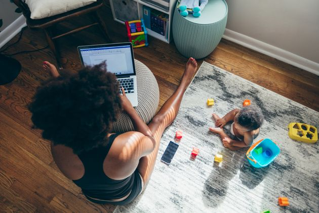 Staying home during the pandemic has led to many challenges for working parents.