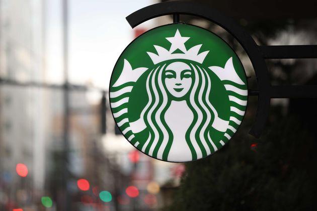 コーヒーチェーン「スターバックスコーヒー」の看板