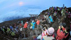 富士山登れません 山梨に続き、静岡も登山道閉鎖