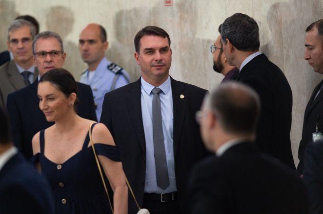 Senador Flávio Bolsonaro, filho mais velho do presidente: novos ingredientes políticos...