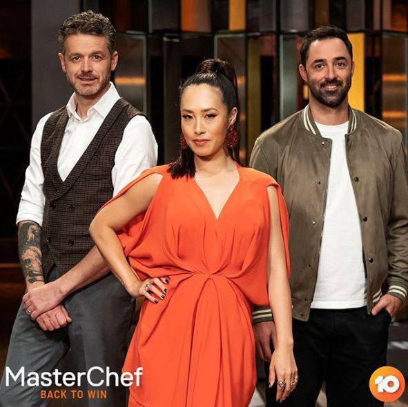 'MasterChef Australia: Back To Win' judges Jock Zonfrillo, Melissa Leong and Andy