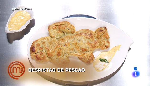 El plato presentado por Luna y Ana en