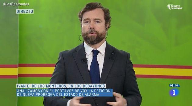 Iván Espinosa de los Monteros, en 'Los
