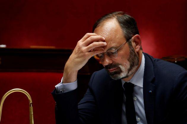 Édouard Philippe à l'Assemblée nationale le 12