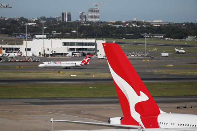 Qantas planes are seen at Kingsford Smith International Airport. REUTERS/Loren Elliott/File