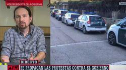 """Pablo Iglesias, sobre las caceroladas en su domicilio: """"A la política hay que venir llorado de"""