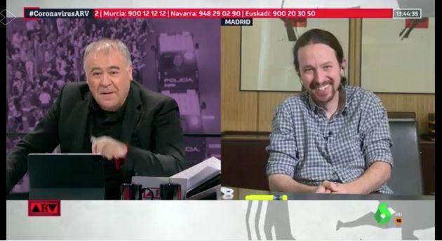 Pablo Iglesias en Al Rojo