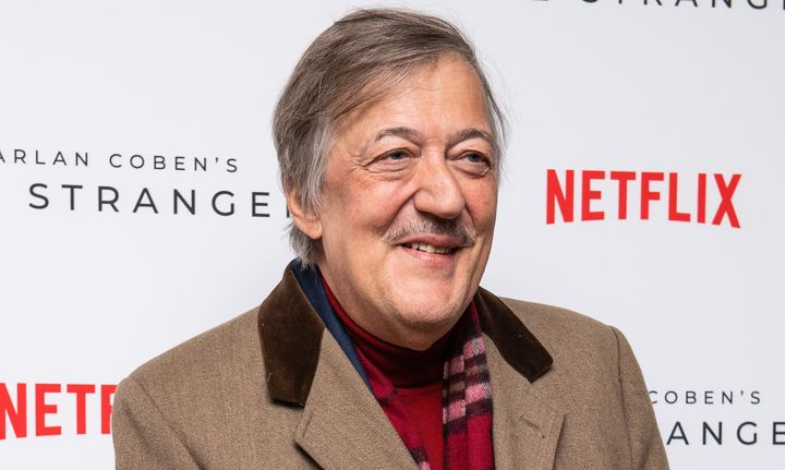 Stephen Fry is another of the celebrities that have recorded video messages of support to the LGBT+ community