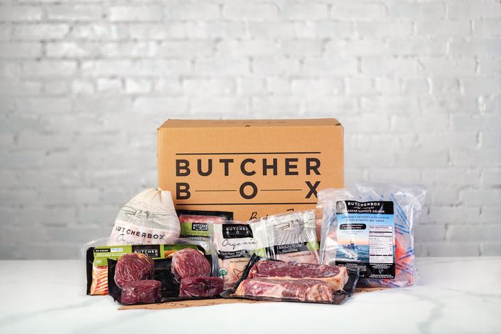 An example of the type of meat you can get in a Butcher Box delivery.