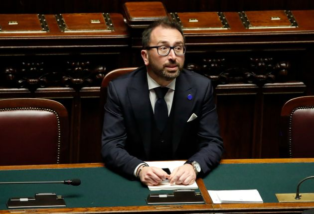 ROME, ITALY - FEBRUARY 27: Justice Minister Alfonso Bonafede during the discussion in the Chamber of...