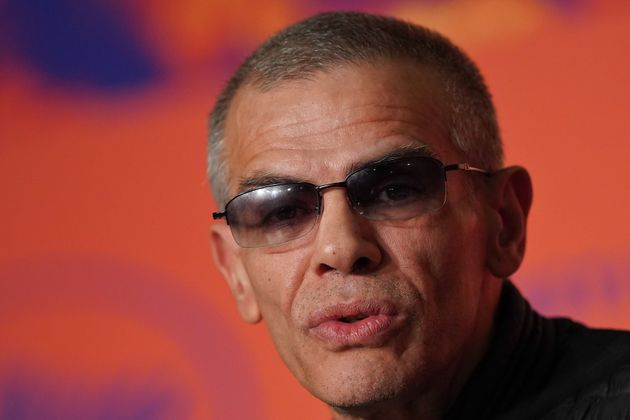 Le réalisateur Abdellatif Kechiche lors du Festival de Cannes