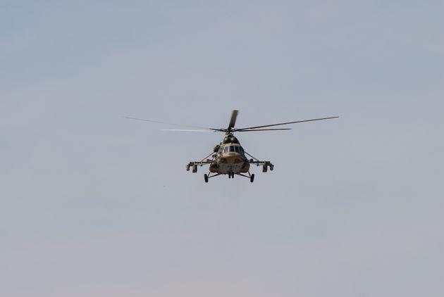 Στρατιωτικό ελικόπτερο συνετρίβη κοντά στη