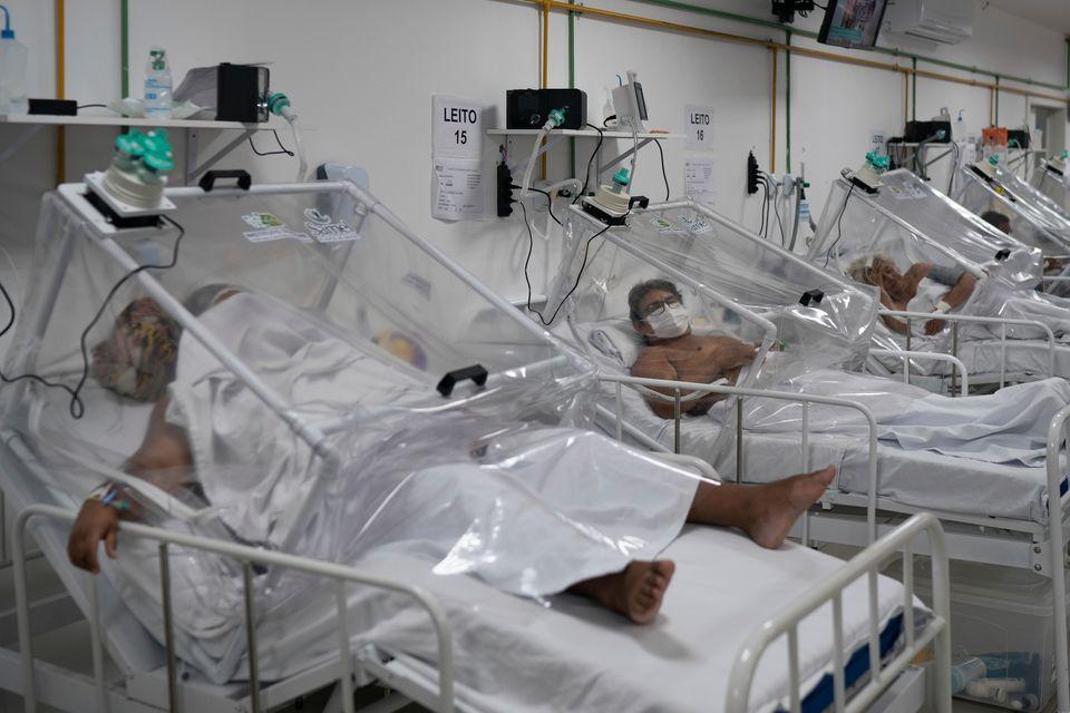 Em 30 de março, Ministério da Saúde passou a recomendar uso da cloroquina para pacientes...