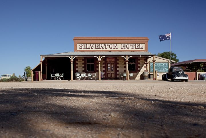 World famous outback pub, the Silverton Hotel in NSW.