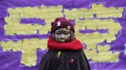 일본 우파 언론이 소녀상 철거를 요구하고
