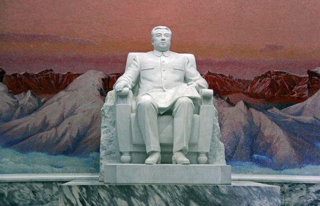 김일성 주석의 거대한