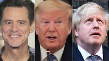 Trump, Boris Johnson Get Chilling Movie Makeover In Jim Carrey's Coronavirus Art
