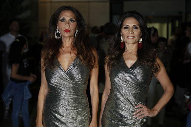 Toñi y Encarna Salazar en Getafe en