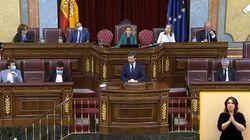 El gesto de Pablo Casado en la tribuna del Congreso que ha generado mucho revuelo (para mal) en