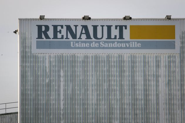 Cette photo prise le 7 mai 2020 montre l'usine Renault à Sandouville, dans le nord de la