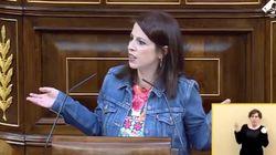 Adriana Lastra se encara con un diputado del PP: