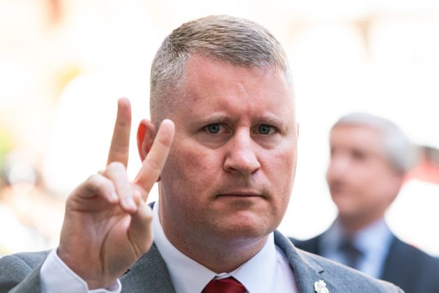 Britain First Leader Paul Golding Convicted Of Terrorism Act Offence