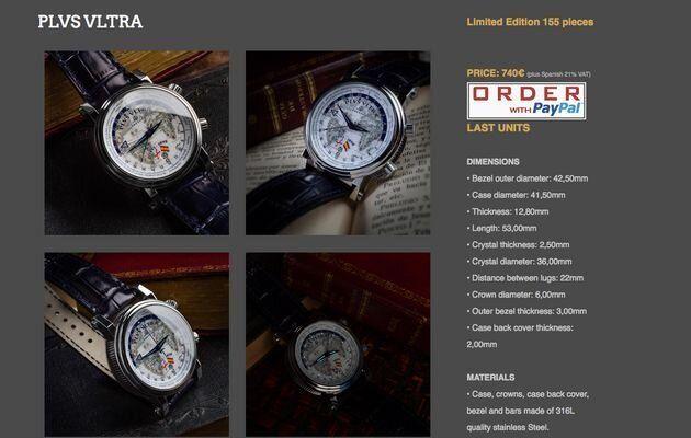 Descripción del reloj que llevaba Abascal en 'El