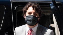 Trudeau Says He'll Wear A Mask When He Can't Physically Distance From