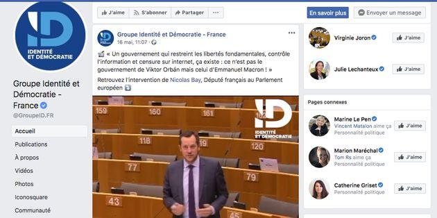Selon les données de Facebook, de tous les partis représentés au Parlement européen, le Rassemblement...