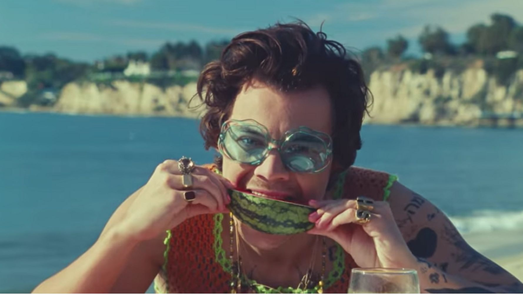 How To Get The Looks From Harry Styles' 'Watermelon Sugar' Music Video 1