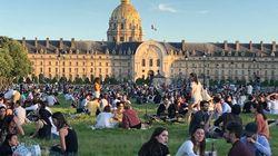 À Paris, la police évacue une esplanade des Invalides bien trop
