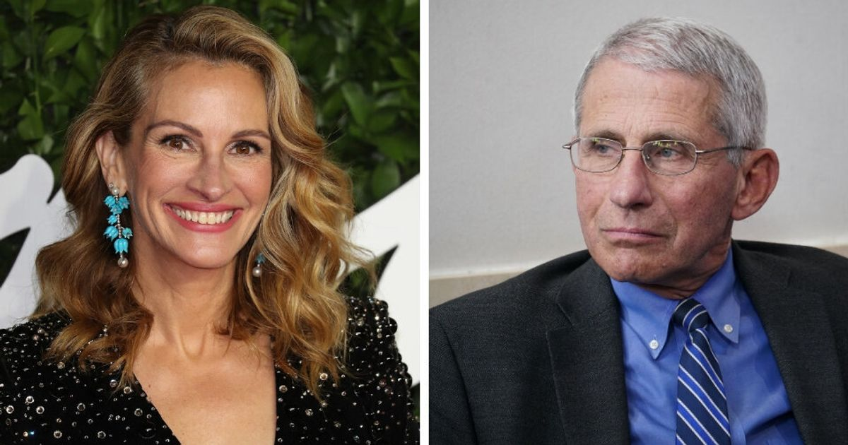 Dr. Fauci Will Take Over Julia Roberts' Instagram To Share Info About COVID-19