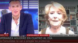 Enfrentamiento entre Esperanza Aguirre y Joaquín Prat: